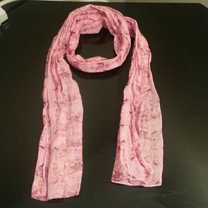 """Warriors In Pink Scarf 54"""" x 8"""""""